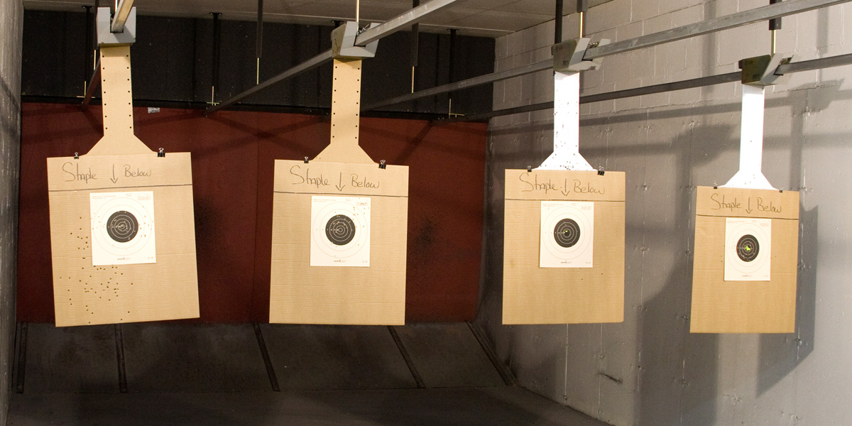 20 indoor firing lanes in Southeastern, MA